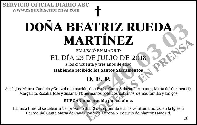 Beatriz Rueda Martínez